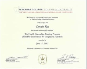 Teachers College Columbia University Diploma
